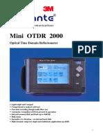 Mini OTDR 2000 Modifiziert Engl