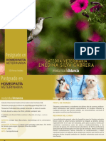 Postgrado en Homeopatia Veterinaria 2017