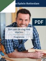 Nieuw Programmanboekje Slim Aan de Slag Met Starten20171003