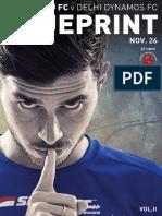 BLUEPRINT | BENGALURU FC vs DELHI DYNAMOS FC