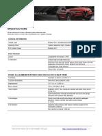 2018 AR Stelvio Specifications