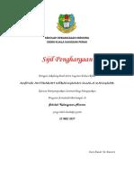 sijil phargaan antidadah