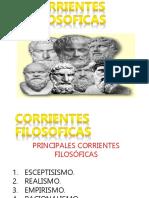 Corrientes Filosoficas