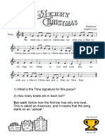 Worksheet 4 - We Wish you a Merry Christmas