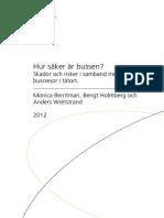 Bulletin 274 Bussaekerhet 120604