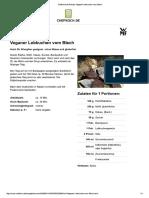 Chefkoch.de Rezept- Veganer Lebkuchen Vom Blech