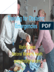 Training for Obstetric Emergencies