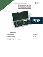 Proma 13581 Proma Instructiuni de Utilizare Micrometru 75 100mm