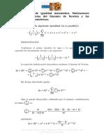 Demostración de Igualdad Matemática