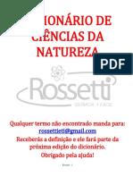 Dicionário de Ciências Da Natureza