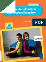 140 jeux de relaxation pour l'école et la maison (Retz 2016)