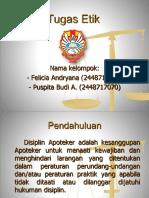 Kasus Pedoman Disiplin No.22 Felicia (029)Puspita (070)