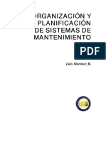 ORGANIZACIÓN Y PLANIFICACION DE MANTENIMIENTO 2007