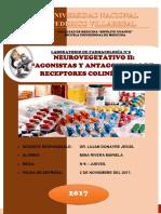 laboratorio FARMACOLOGIA 8