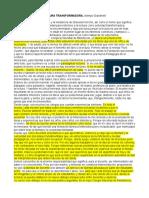Una reflexión sobre la LECTURA TRANSFORMADORA  - Mempo Giardinelli