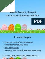 1 Simple Present Present Continuous Present