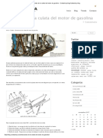 Elementos de La Culata Del Motor de Gasolina - Culatashop BlogCulatashop Blog
