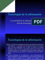 Tecnolog as de La Informaci n