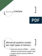 Bab 4 - Memori Interface 1
