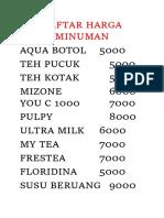 Daftar Harga Minuman.docx