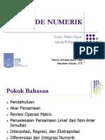 1 - METODE NUMERIK -T. Infrastruktur Sipil(1)