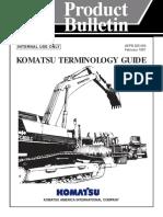 Komatsu Terminology Guide