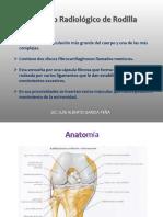 Estudio Radiográfico de Rodilla