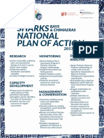 National Plan of Action for Sharks Rays and Chimaeras