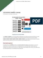 Los Diodos de Las Series 1N4000 y 1N5400 _ Inventable