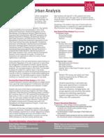 Real Estate and Urban Analysis