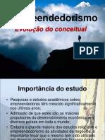 AULA 4 - Empreendedorismo - Evolução Conceitual - HISTÓRICO DA CONSTRUÇÃO DO CONCEITO