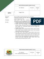 319835784 1 SPO Identifikasi Pasien Rawat Jalan