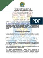 PRG Edital 03-2015 - 2ª Chamada Lista de Espera SiSU 1 2015.pdf