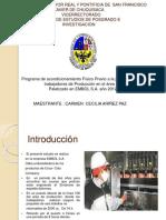 PROGRAMA DE ACONDICIONAMIENTO FISICO PREVIO A LA JORNADA LABORAL