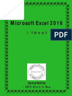 Microsoft Excel 2016 (English Version)