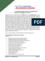 Basic Recruitment & Selection 2018