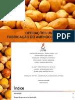 Operações Unitárias Na Fabricação de Amendoim Japonês
