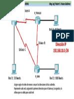 Diagrama de Direccionamiento