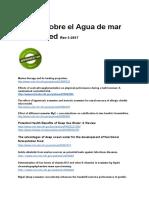 Estudios Científicos Sobre El Agua de Mar (1)