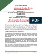 Job Evaluation & Grading System 2018