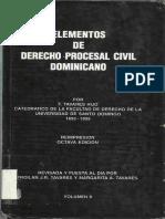 Elementos de Derecho Procesal Civil Dominicano Tomo II