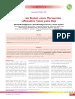 CPD 250-Formulasi Topikal Untuk Manajemen Dermatitis Popok Pada Bayi