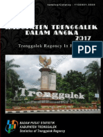 Kabupaten Trenggalek Dalam Angka 2017