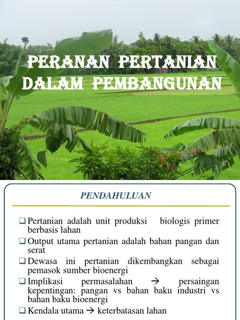 Pip 4pip 5 Pertanian Dan Pembangunan Negara