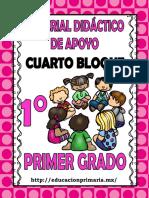 PRIMER GRADO-4° BLOQUE