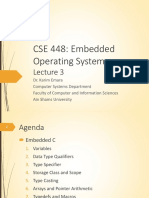 Review on Embedded C