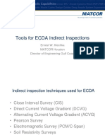 ECDA Indirect Inspections