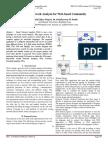 Social Network Analysis for Web-based Community