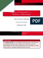 Directivas-procesador-c++