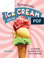 The Homemade Icecream Recipe Book